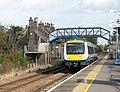 Unit 170 273 leaving Brandon railway station - geograph.org.uk - 1516135.jpg