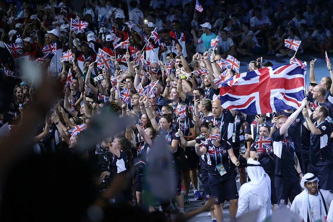 United Kingdom athletics on 2017 Summer Universiade Opening Ceremony.jpg