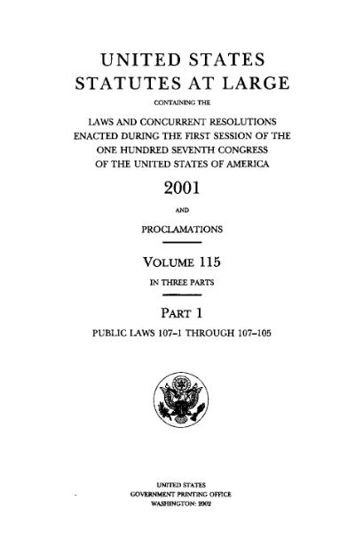 File:United States Statutes at Large Volume 115 Part 1.djvu