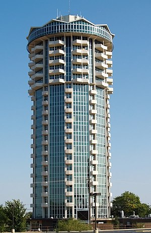 Founders Tower (Oklahoma City) - Image: Unitedfounders 10 29 07 c
