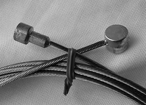 """2 cables Brake kit Brown Sheath 28/"""" Single Speed terminals for Bike 26/"""""""