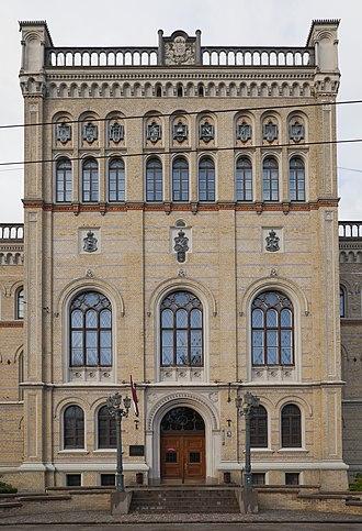 University of Latvia - Image: Universidad de Letonia, Riga, Letonia, 2012 08 07, DD 01
