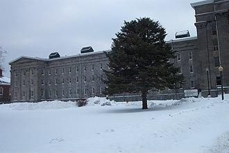 Utica Psychiatric Center - Image: Utica State Hospital left December 2007