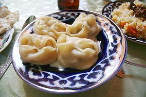Uzbek cuisine - Manti