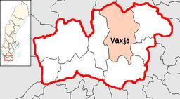 Växjö Municipality in Kronoberg County.png