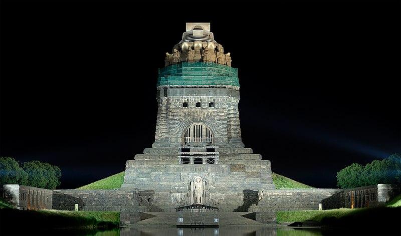 Völkerschlachtdenkmal (Bildquelle: Wikipedia.org)