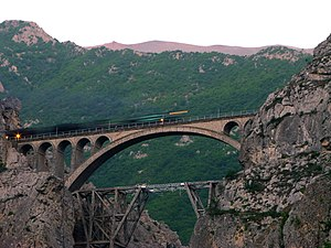 Transport in Iran - Veresk Bridge