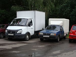 VAZInterService - Image: VIS and Gazelle pickups comparison
