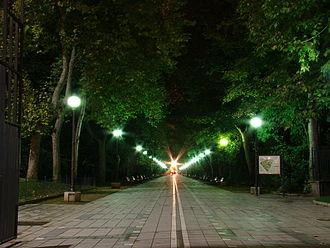 Campo Grande (Valladolid) - Image: Valladolid Campo Grande Navidad ni