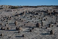 Bocce court in Ischigualasto ValleyAuthor: Horacio F. Duran