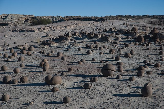 4-10th place: Cancha de Bochas (Bocce court) at Ischigualasto National Park, by Perrito666