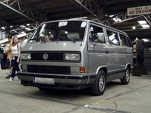 Volkswagen Type 2 (T3) - 1988 California-spec VW Vanagon Wolfsburg Edition