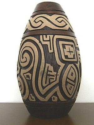 Marajoara culture - Marajoara vase