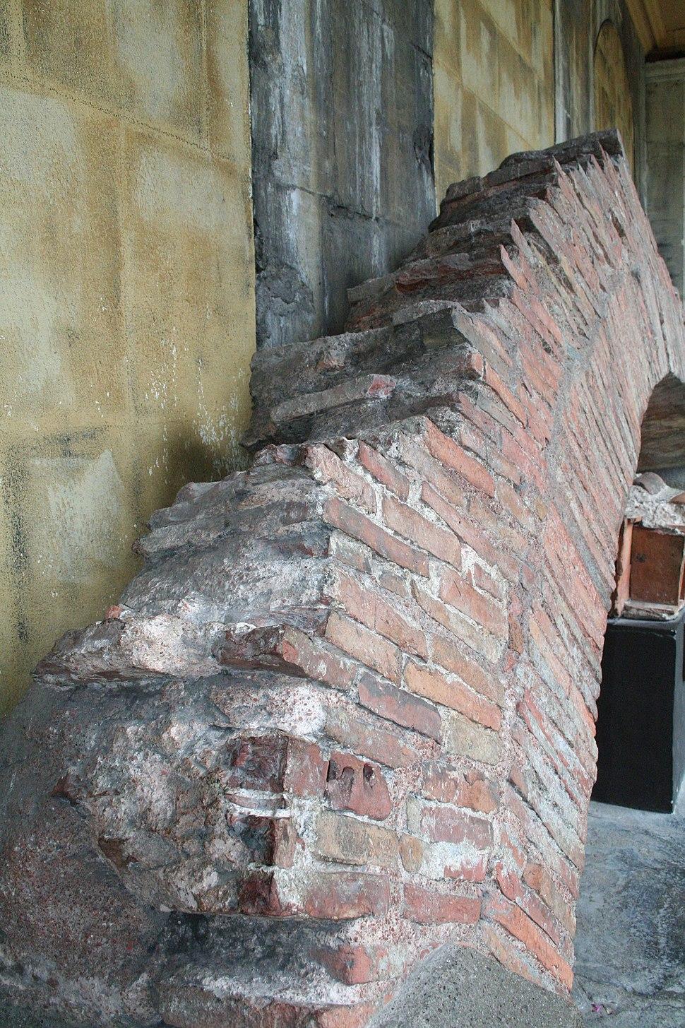 Vault of Roman Bath in Bath - England