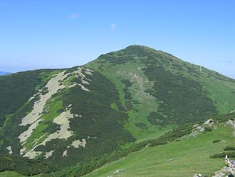 Malá Fatra - Image: Velky krivan