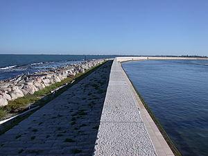 Pellestrina - Image: Venezia Murazzi Pellestrina
