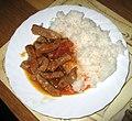 Vepřové maso, omáčka, rýže.jpg