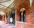 Vercelli, sant'andrea, chiostro, sala capitolare 01.jpg
