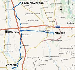 Vercelli-Biandrate-Fara and Novara-Biandrate tramway maps.JPG