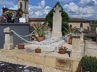 Henri de Toulouse-Lautrec - Toulouse-Lautrec's grave in Verdelais