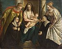 Veronese - Madonna and Child with Saints Lucy and Catherine and 2 Nuns GG 50.jpg