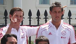 Jan Vertonghen - Vertonghen with Maarten Stekelenburg.