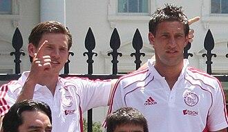 Jan Vertonghen - Vertonghen with Maarten Stekelenburg.