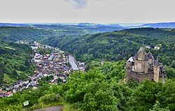 Vianden and the Castle of Vianden