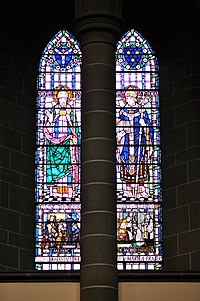 Victoria, BC - Christ Church Cathedral - stained glass 05 - south facade (20446318498).jpg