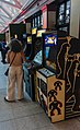 Video arcade games at Wikimania 2017 afterparty.jpg