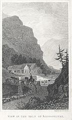 View In The Vale Of Beddgelert, Caernarvonshire