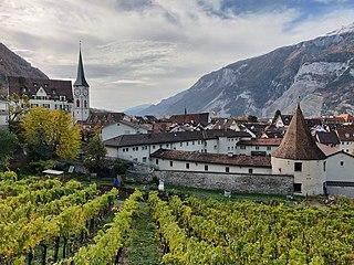 Chur Place in Graubünden, Switzerland