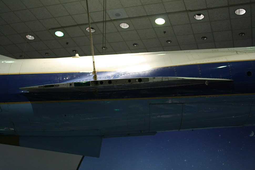 View of F-104 Wing