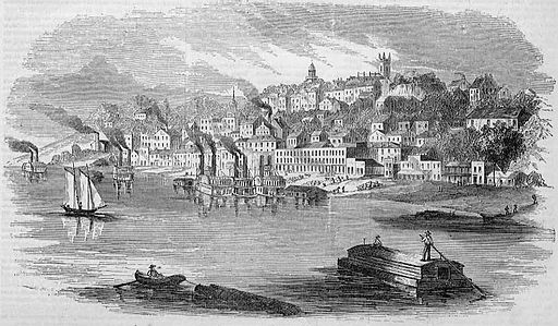 View of Vicksburg, Mississippi