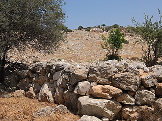 Jarash, Jerusalem - Image: View of general ruins