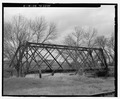 View of southeast of west side - Bridge No. 50-200-035, Spanning Big Souix River at 474th Avenue, Dell Rapids, Minnehaha County, SD HAER SD-51-3.tif