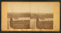 View of the Bunker Hill Monument, road with horse and buggy in the foreground, from Robert N. Dennis collection of stereoscopic views.png