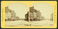 View of unidentified street with commerical business and horse-drawn carts, from Robert N. Dennis collection of stereoscopic views.png