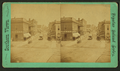 View on Washington Street (a commercial street with stores, street car and carts.), by J. L. Schaub.png