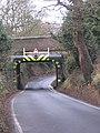 Vigo Bridge under the Lickey Incline, Hewell Lane, Burcot. - geograph.org.uk - 1101984.jpg