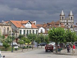 Vila Flor - The central square of Vila Flor
