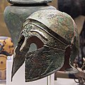 Villa-poniatowski---elmo-in-bronzo-di-fattura-greca 32389287772 o.jpg