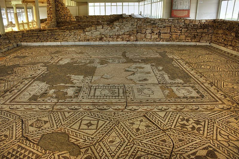 File:Villa Armira, the Mosaics 2.jpg
