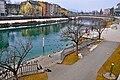 Villach Innenstadt Drauterrassen und Draubrücke Bahnhofstraße 30012011 857.jpg