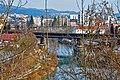 Villach Sankt Martin Drau alte Eisenbahnbrücke W-Ansicht 06022011 2119.jpg