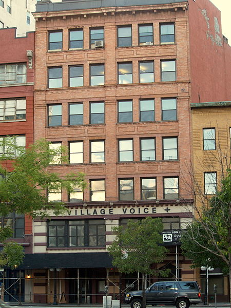 File:Village Voice offices on Cooper Square in New York City.jpg
