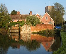 Village pond at Haughley - geograph.org.uk - 1267157.jpg