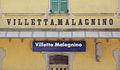 Villetta Malagnino stazione ferr scritta.JPG