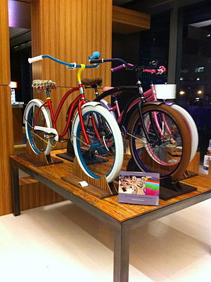 Omni Dallas Hotel - Villy Custom fashion bicycles at the Onmi Dallas gift shop