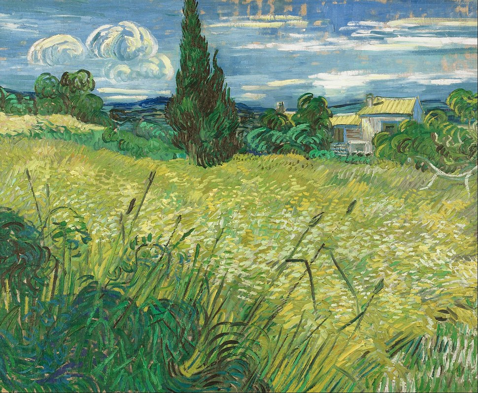 Vincent van Gogh - Green Field - Google Art Project